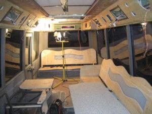 TOUR BUS UPHOLSTERY IN BIRMINGHAM