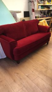 UPHOLSTERY FOR FABRIC SOFA'S