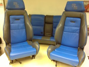 RS LEATHER CAR SEATS