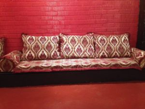 RESTAURANT SEATING FABRIC