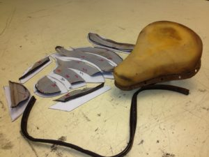 MOTORCYCLE SEAT REPAIR