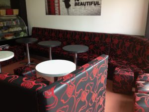 FAST FOOD RESTAURANT REUPHOLSTERY