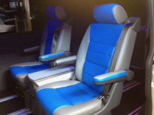 PEOPLE CARRIER LEATHER SEATS