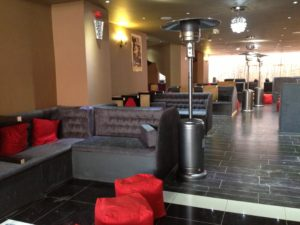 SHEESHA CAFE SEATING BIRMINGHAM