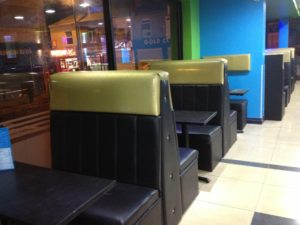 FAST FOOD RESTAURANT SEATS