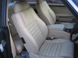 JAGUAR LEATHER CAR SEATS
