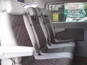 MINI BUS LEATHER SEATS