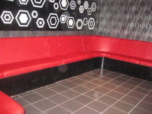 RED NIGHTCLUB SEATING BIRMINGHAM