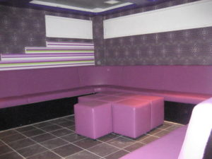 PINK NIGHTCLUB SEATING BIRMINGHAM
