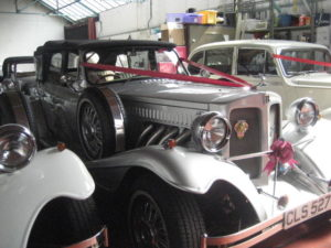 CLASSIC CAR UPHOLSTERY IN BIRMINGHAM