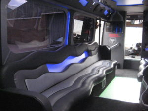 SEATING FOR TOUR BUSES