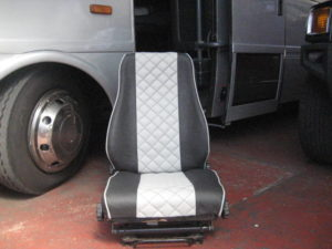 TOUR BUS LEATHER SEATS