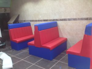 BESPOKE SEATING FOR FAST FOOD
