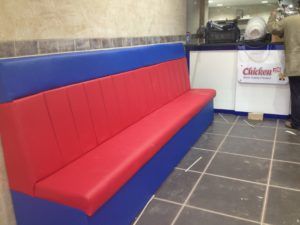 CUSTOM SEATING FOR FAST FOOD