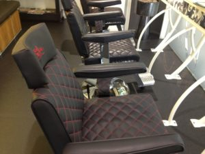 BARBER CHAIR UPHOLSTERY BIRMINGHAM