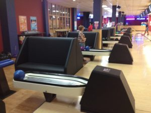 UPHOLSTERY FOR BOWLING ALLEYS