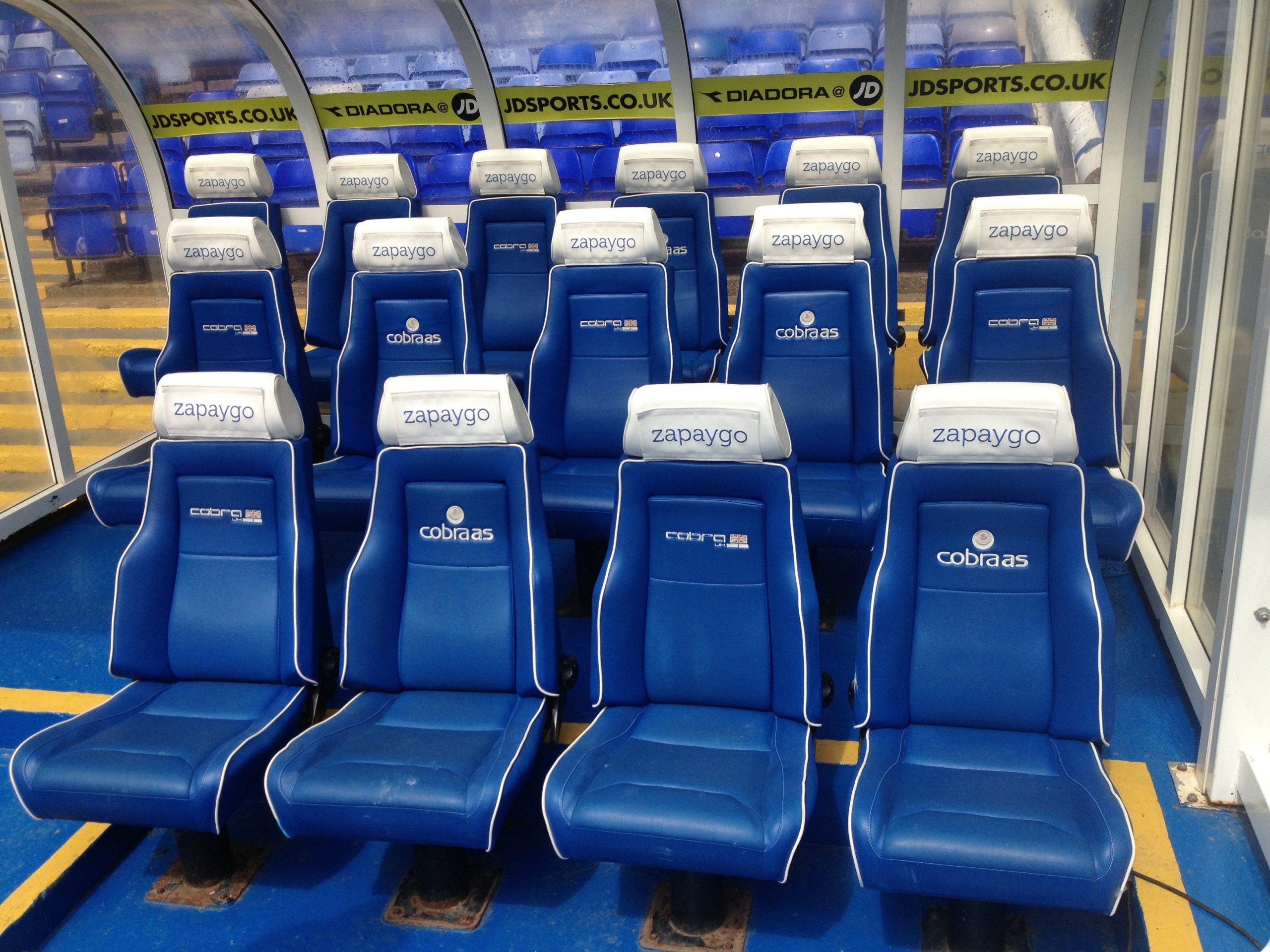 STADIUM SEAT UPHOLSTERY