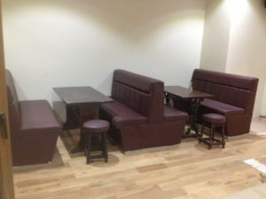 SEATING FOR PUBLIC HOUSES