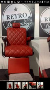 RETRO BARBER CHAIRS